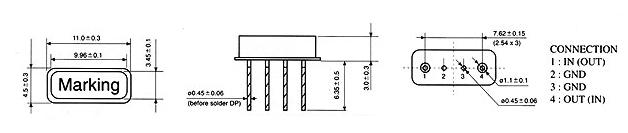 f11声表谐振器315m 433.92m